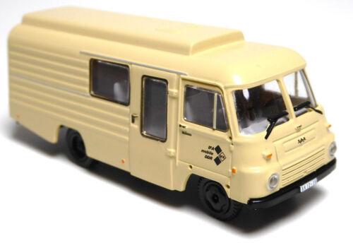 H0 Robur LD 3000 FrM5//Mz8 Kasten IFA mobile DDR VEB IFA Werke beige # 15400002