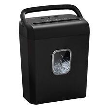 Bonsaii C234 B Portable P 4 High Security 8 Sheet Cross Cut Paper Shredder Bin
