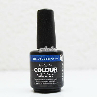 ARTISTIC NAIL DESIGN Colour Gloss Soak Off UV LED Gel Polish 15ml 0.5oz * LIST C