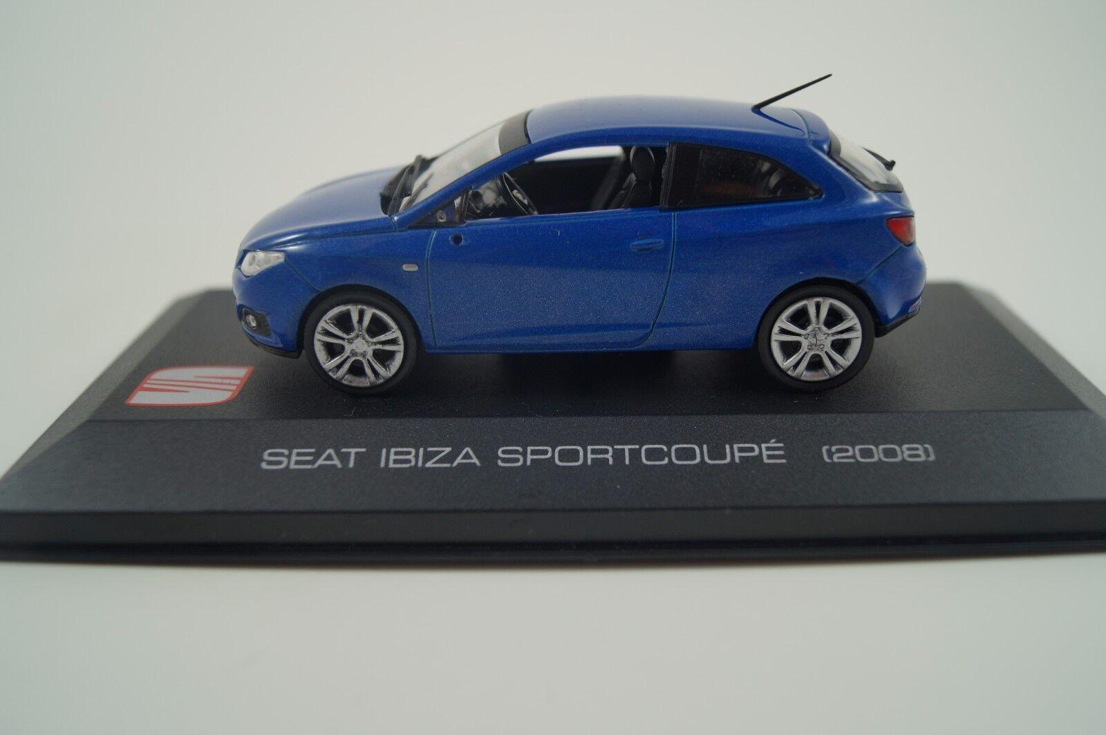 Maqueta de de de coche 1 43 seat Collection seat ibiza Sport Coupe 2008 3bc0c5