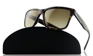 4b3ba67c3ce Image is loading NEW-Authentic-PRADA-Havana-Brown-Gradient-Rectangular- Sunglasses-
