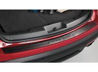2011 Thru 2015 Ford Explorer Genuine Parts Black Rear Bumper Protector