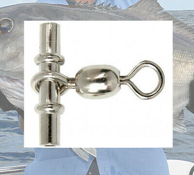 Deep Sea Swivels 100pack BlueEye 2.4mm Dropline // sleeve swivels Barcod,