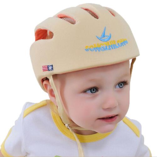 New Adjustable Baby Toddler Safety Helmet Headguard Children Hats Harnesses Cap