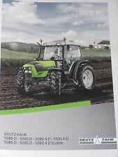 DEUTZ-FAHR SERIE 5D Traktoren Prospekt 05/14 ( DF 101 )