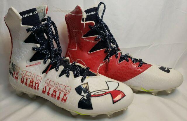 Under Armour Highlight MC LE Texas LoneStar State UA Football Boots NEW