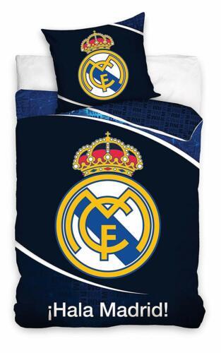 TAIE 70x80 Real Madrid parure de lit 100/% Coton housse de couette 140x200