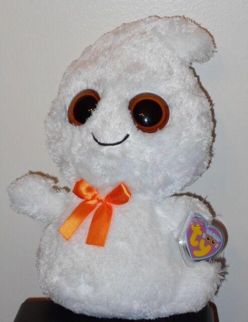 7d42c7030e1 Ty Beanie Boos GHOSTY The Halloween Ghost (medium 9-10 Inch) Buddy ...
