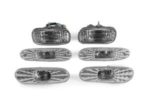 Image Is Loading 6PCS JDM Clear Bumper Signal Side Marker Lights