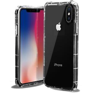 For Iphone XS Max / X /  Xs /Xr / 6 / 6S / 7/ 8 Plus Case Clear Bumper TPU Cover