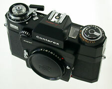 ZEISS IKON Contarex S Super Vertrieb Logo body last version black schwarz