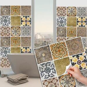 Ps00016 adesivi murali in pvc per piastrelle per bagno e cucina stickers design ebay - Adesivi piastrelle bagno ...
