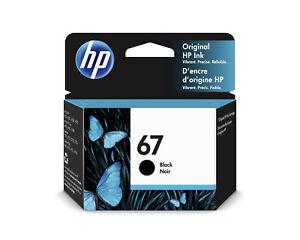 HP 3YM56AN 67 Black Original Ink