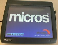 Micros Workstation 5a Pos Ws5a Terminal 400814 101 Touch Screen Withstand