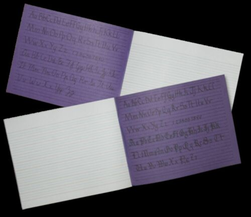 DALTON MANOR 2 X PACK HANDWRITING BOOKS RULED /& LINED 32 PAGES EACH