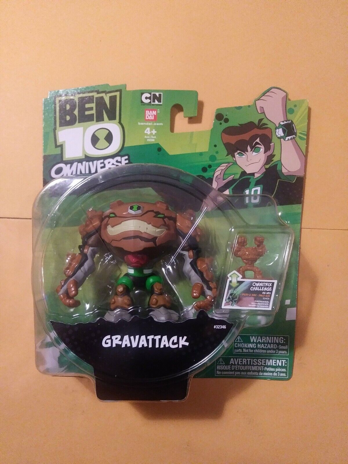 Ben 10 Omniverse Gravattack Action Figure New (Read Description)