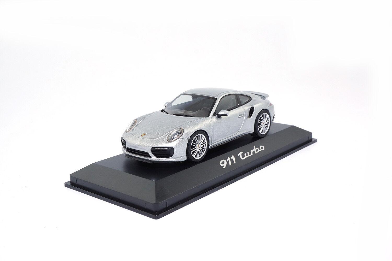 WAP0201320G - Herpa Porsche 911 (991.2) (991.2) (991.2) Turbo - silver - 1 43 4cc4c5