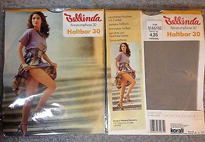 Obligatorisch 2x Bellinda Feinstrumpfhose Haltbar 30 Flanell 70er Gr. I,ii,iv Neu Ovp Vintage HüBsch Und Bunt