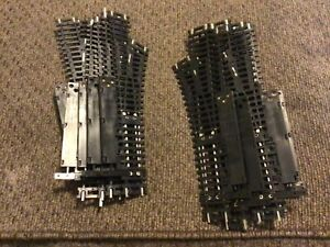 """HO Scale Atlas Brass Track Snap Switch Lot Of 12 Right And Left Switches 9"""" Long"""