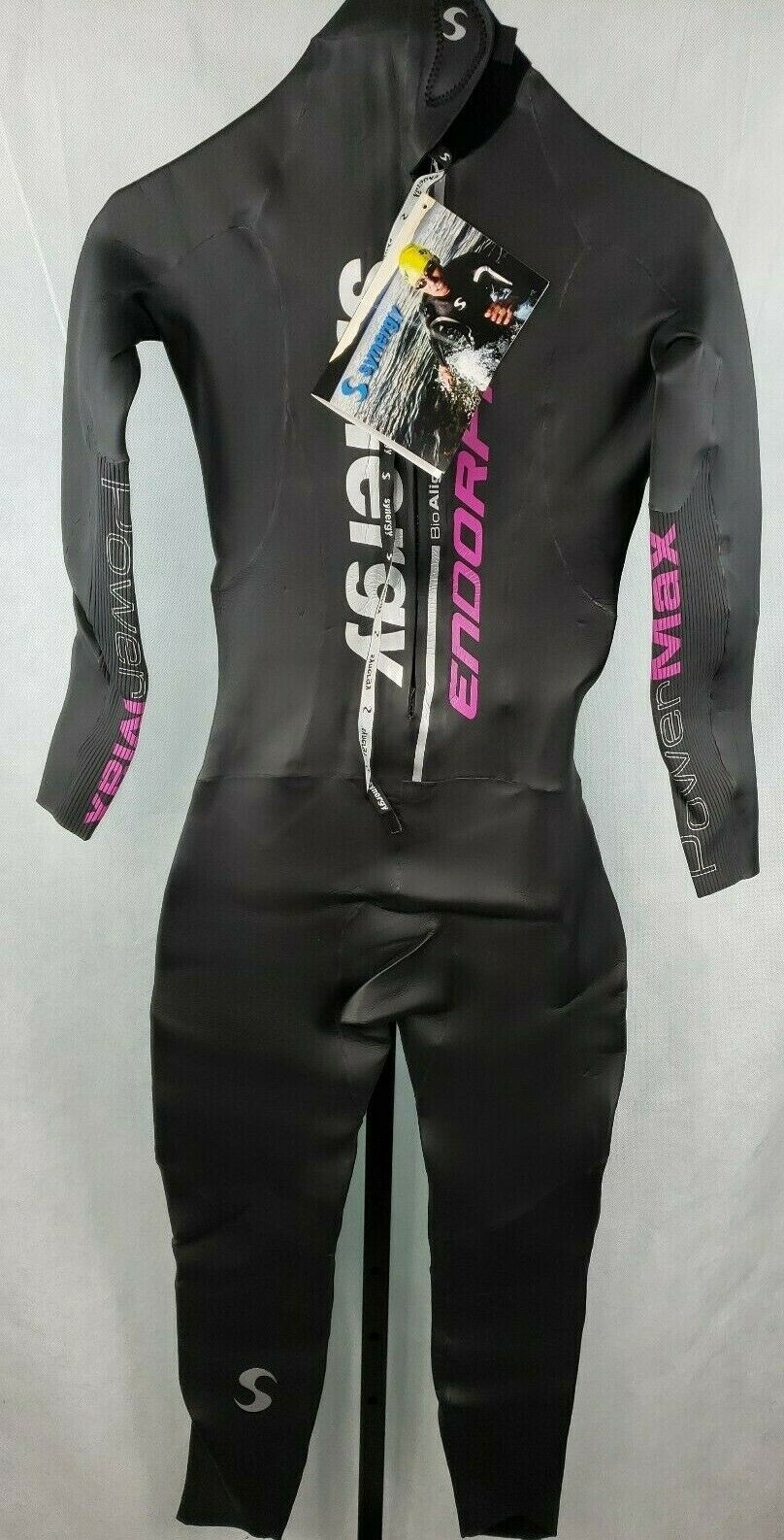 Synergy Bioalign Endorfine Powermax Long John Wetsuit Womannen's afmeting W2