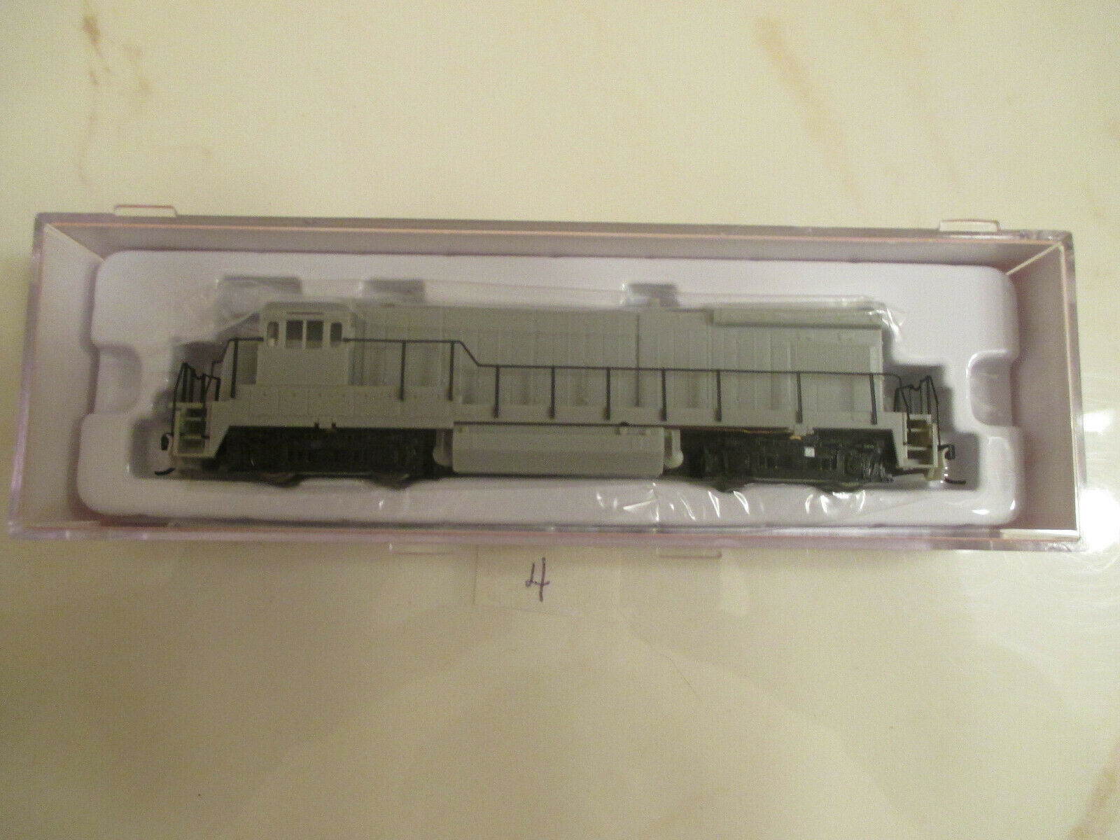 Atlas N-Scale Model Train Undecorated  49700