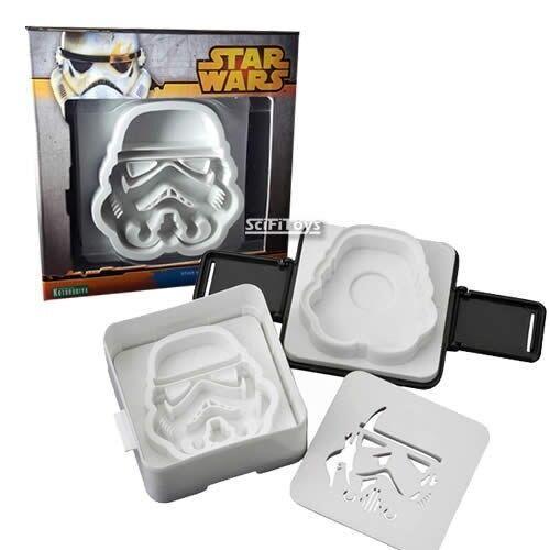 New STAR WARS Stormtrooper Pouch Sandwich Toast Shaper Mould Kitchen Kotobukiya