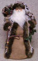 Christmas Table Decor Woodland Santa Tree Topper Fireplace Mantel Ledge 19