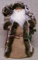 Christmas Table Decor Woodland Santa Tree Topper Fireplace Mantel Ledge 19