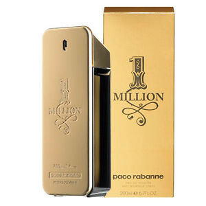 1 Million Paco Rabanne Eau De Cologne Parfum Edt 200 Ml Homme