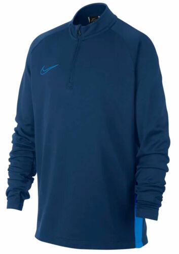 Nike Children Fussball-Trainings-Sweatshirt Academy Dry-Fit Drill Top Blue