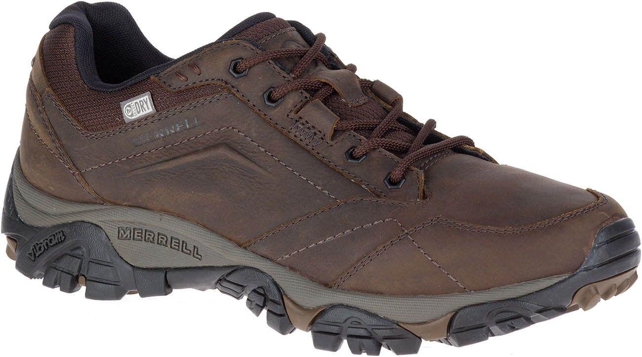Merrell Moab aventura Encaje Zapatos Para Caminar Impermeable de Hombre-Marrón