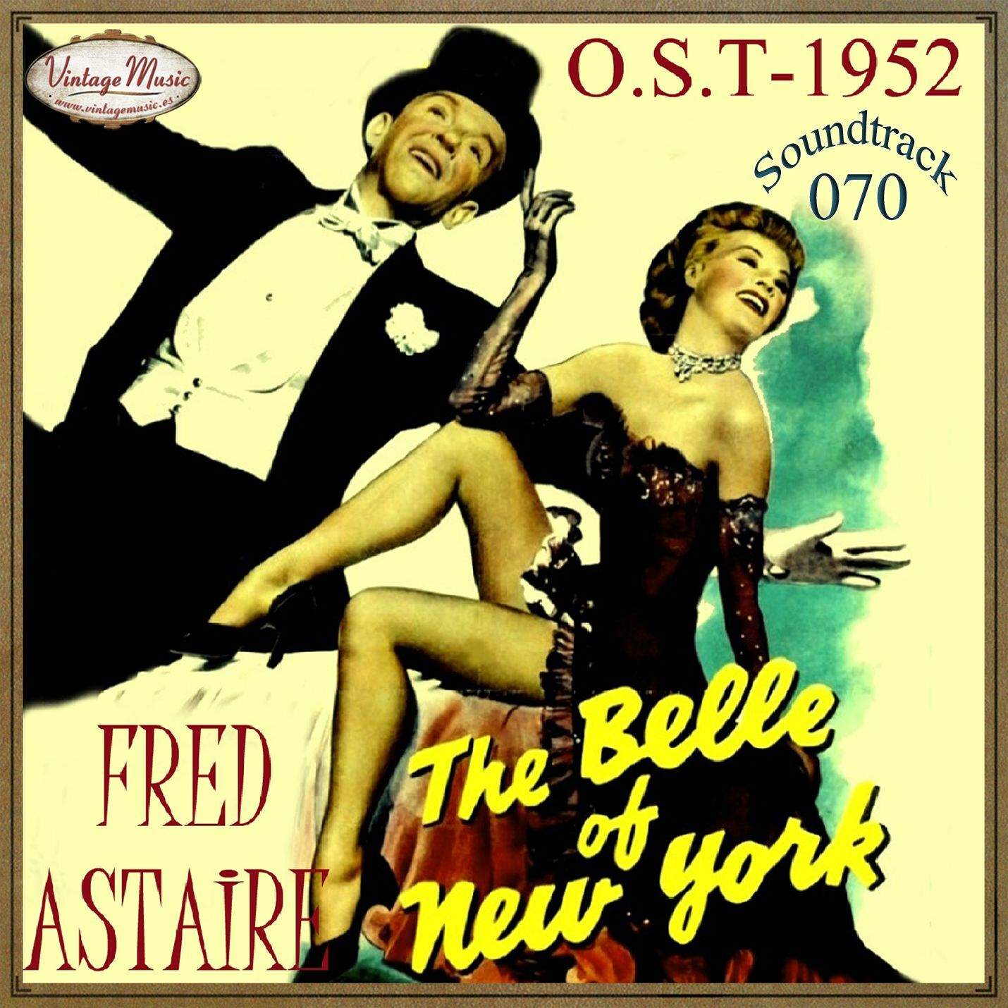 Varios Artistas THE BELLE OF NEW YORK Soundtrack CD 70/100 - O.S.T 1952 Fred Astaire Anita Ellis