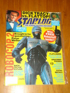 STARLOG-157-SCI-FI-MAGAZINE-AUGUST-1990-ROBOCOP-2-GREMLINS-BACK-TO-THE-FUTURE