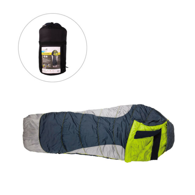 8b5851f57780 0F / -17C Polyester Mummy Sleeping Bag Outdoor Camping Hiking With Carrying  Case