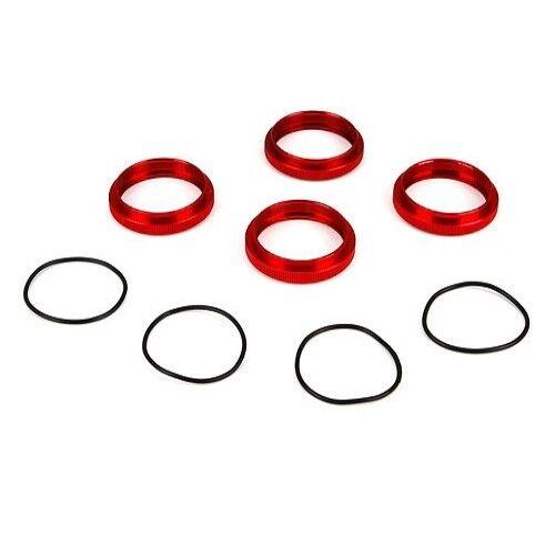 Aluminum 1 5 4WD DBXL O-Ring LOSI LOS253009 Shock Adjuster Nut w