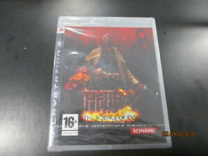 Hellboy-The-Science-of-Evil-Play-Station-3-neuf-sous-blister-version-FR