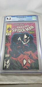 Amazing-Spider-Man-316-CGC-9-2-NM-WHITE-pgs-1st-Venom-cover-Black-Cat-McFarlane