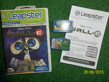 2 x LEAP FROG LEAPSTER & 2 GAMES WALL-E + Spongebob Squarepants: Saves The Day