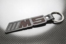 BMW M5 Leather Keyring, Keychain, Schlüsselring, Porte-clés E35 E39 E60 E61 F10