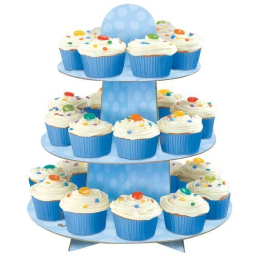 3 Tier Party Cake Cupcake Muffin Stand Holder Rack Food Serve Birthday Wedding