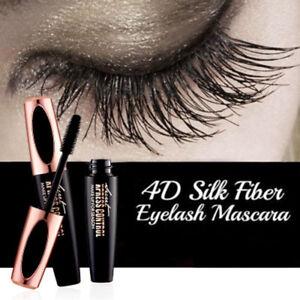 Fibra-de-Pestanas-Rimel-Impermeable-4D-Seda-Extension-Maquillaje-Negro-Kit-Pestanas