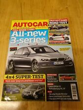 Autocar 10/08/2011- Ariel Atom V8, Used Porsche 928, Jeep Grand Cherkee v Rivals