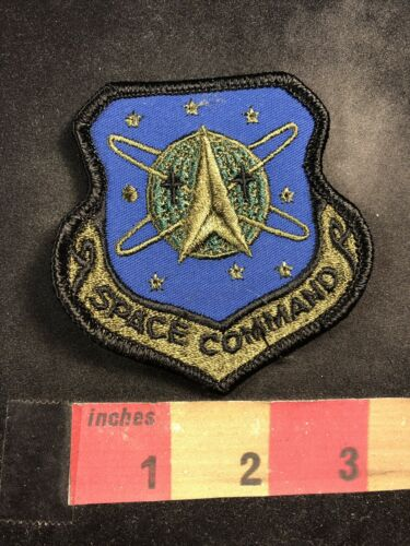 Shield Shaped SPACE COMMAND Patch 00O8