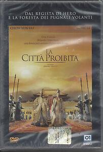 Dvd-LA-CITTA-PROIBITA-dal-regista-di-Hero-Nuovo-Sigillato-2007