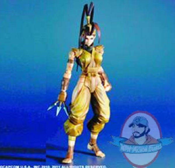 Super Street Fighter IV Play Arts Kai Ibuki Action Figure Square Enix