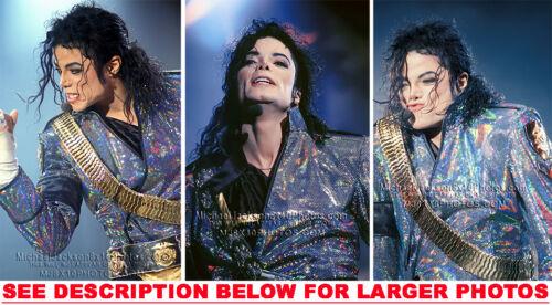 MICHAEL JACKSON DANGEROUS EXPRESSIONS 3xRARE8x10 PHOTOS