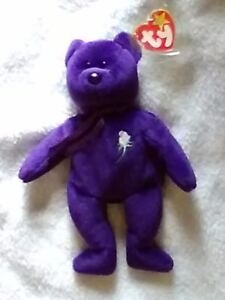 cf31ae2ced6 TY Beanie Baby princess Diana No space MINT 1ST EDITION with errors ...