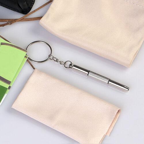 5x 3in1 Brillen Schraubendreher Sunglass Uhr Reparatur Kit Werkzeuge neue  ^