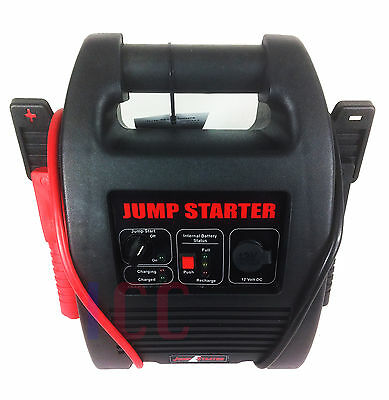 SW75JS 12v 6A 12A Automatic Car Van 120Ah Battery Charger With 75A Jump Starter