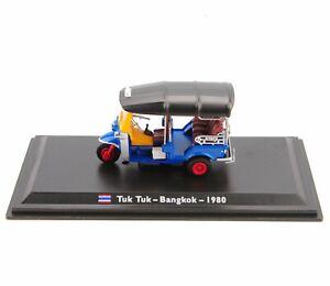 Leo-TUK-TUK-BANGKOK-1-43-1980-Modelo-De-Coche-Automovil-Taxi-Juguete-De-Coleccion-De-Juguetes